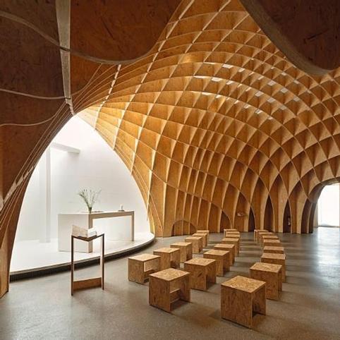 ván gỗ ép công nghiệp dăm dùng cho trang trí